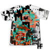 Skull Glitch EZ06 1103 All Over T-Shirt - Hyperfavor