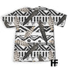 Skull Tribal Vintage Feather EZ06 1203 All Over T-Shirt - Hyperfavor