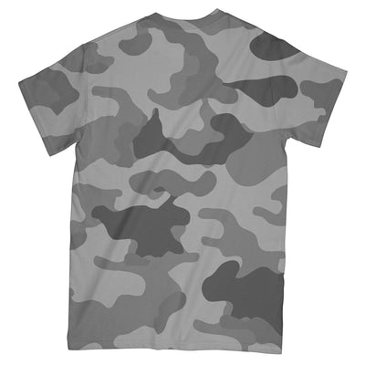 Camo Soldier Butterfly EZ08 3003 All Over T-shirt - Hyperfavor
