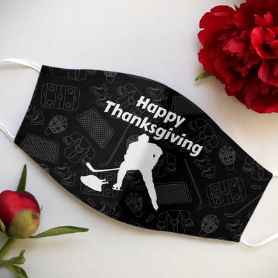 Thanksgiving Hockey EZ01 1210 Face Mask - Hyperfavor