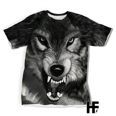 The Lone Wolf EZ09 1103 All Over T-Shirt - Hyperfavor