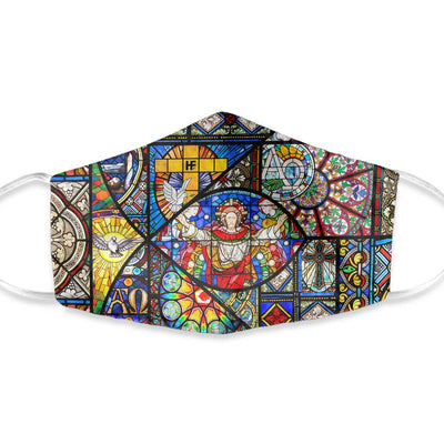 The Resurrection Of Jesus Colored Pattern EZ30 1603 Face Mask - Hyperfavor