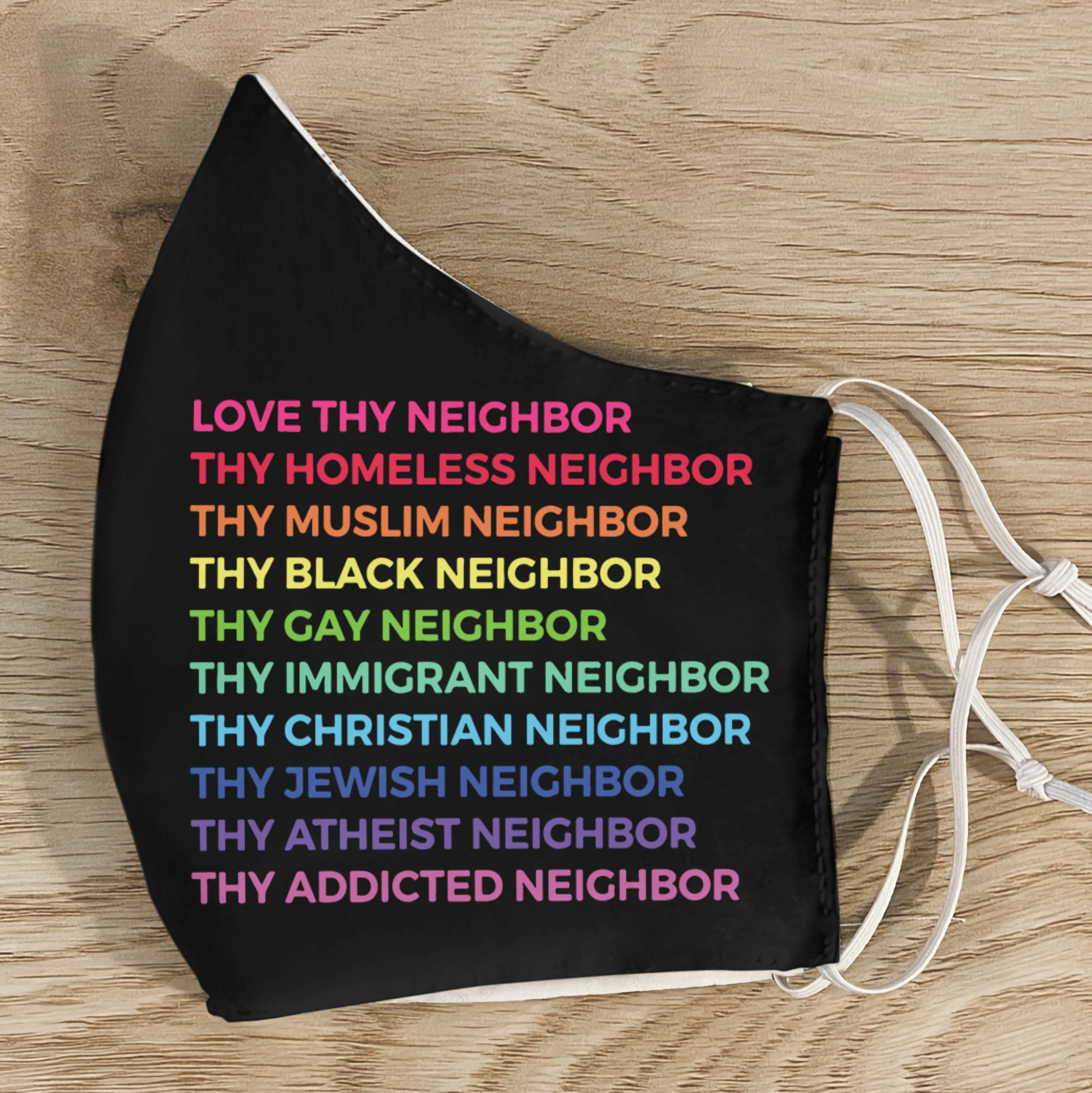 Thy Neighbor EZ01 3005 Face Mask - Hyperfavor