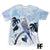Ultra Violet Parrot Bird EZ02 1103 All Over T-shirt - Hyperfavor