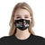 Yes I am The Crazy Cow Lady Black EZ16 0907 Face Mask - Hyperfavor