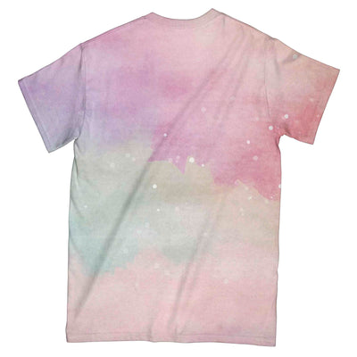 Yoga Dreamcatcher Hummingbird Galaxy EZ07 0904 All Over T-Shirt - Hyperfavor