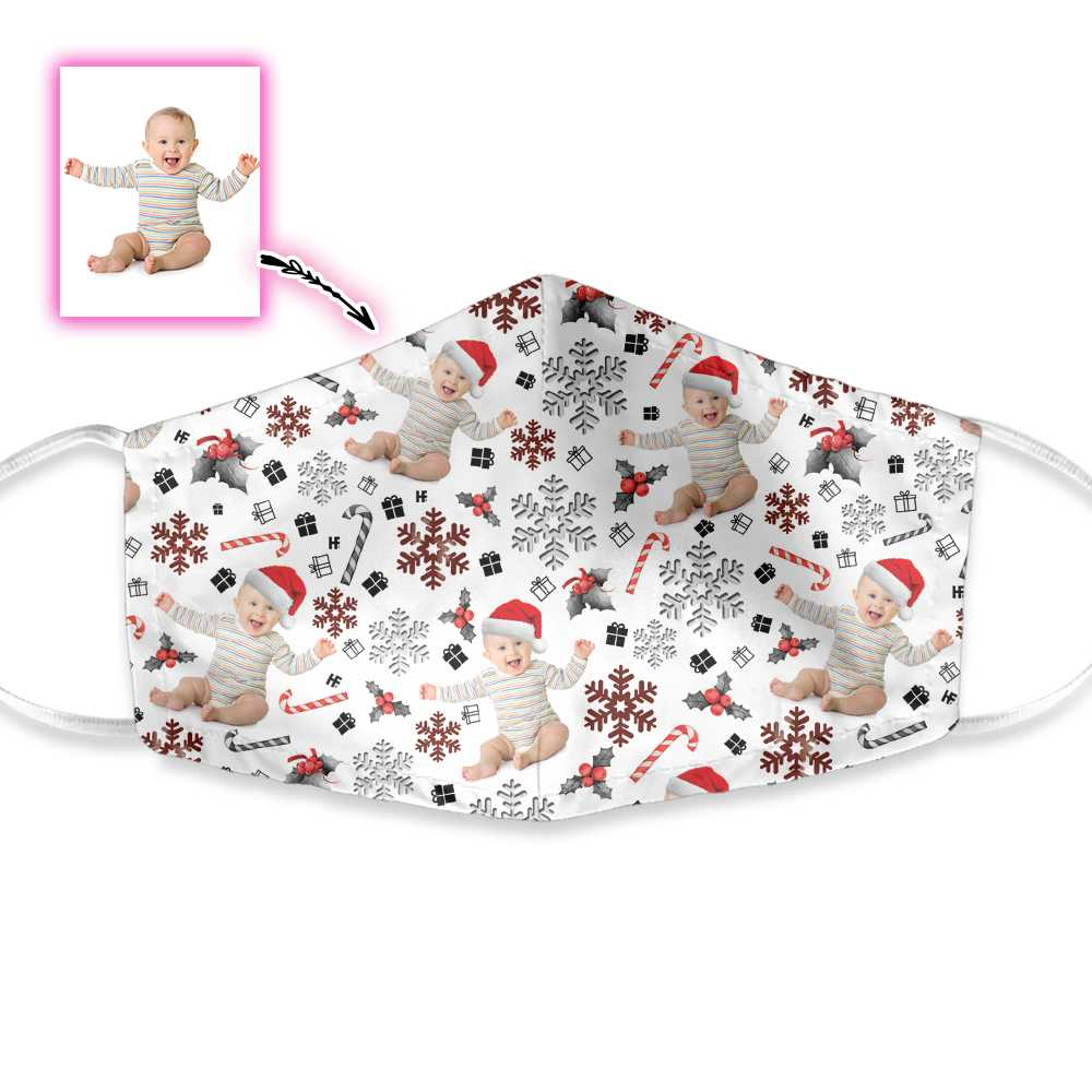 Your Baby Personalized Christmas Edition EZ19 1010 Custom Face Mask