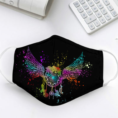 Dreamcatcher With Wings EZ10 2605 Face Mask 1 - Hyperfavor
