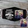 Daddy And Daughter Best Friend Black EZ01 1805 Custom Face Mask - Hyperfavor