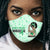Kidney Disease Awareness Unbreakable African American EZ01 2904 Face Mask - Hyperfavor