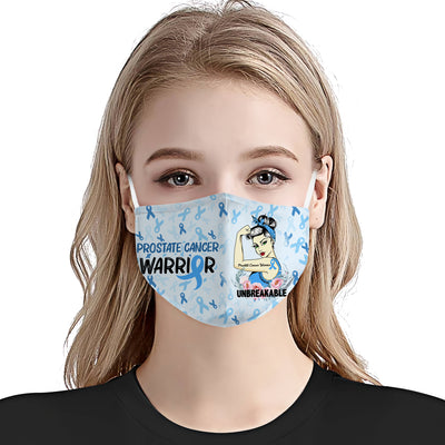 Prostate Cancer Awareness Unbreakable EZ01 Face Mask - Hyperfavor