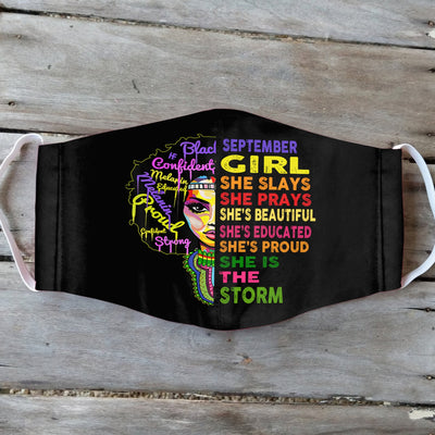 September Girl Black Version EZ01 1905 Face Mask - Hyperfavor
