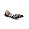 Black Color Ethnic Khusa EC7560