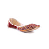 Maroon Color Ethnic Khusa EC7570