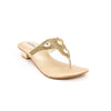 Golden Color Fancy Chappal FN0101