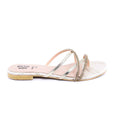 Golden Color Fancy Chappal FN0127