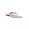 Silver Color Fancy Chappals FN0292