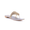 Golden Color Fancy Chappals FN0323