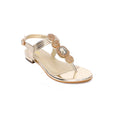 Golden Color Formal Sandal FN4128