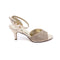 Golden Color Fancy Sandal FN4304