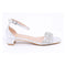 Silver Color Fancy Sandal FN4338