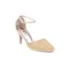 Golden Color Fancy Sandals FN4683