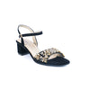 Black Color Fancy Sandals FN4690