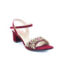 Maroon Color Fancy Sandals FN4690