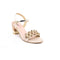 Golden Color Fancy Sandal FN7162