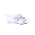 Silver Color Fancy Slipper FN7174
