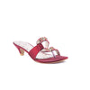 Maroon Color Fancy Slippers FN7334