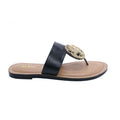 Black Color Formal Chappal FR0124