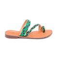 Green Color Formal Chappal FR0130