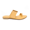 Mustard Color Formal Chappal FR0134