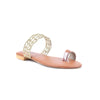 Golden Color Formal Chappals FR0268