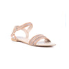 Beige Color Formal Sandals FR4431