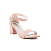 Peach Color Formal Sandals FR4496
