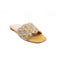 Mustard Color Formal slipper FR7291