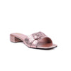 Peach Color Formal Slippers FR7531
