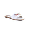 White Color Formal Slippers FR7626