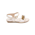 Beige Color Fancy Sandal Girls Children kd6031