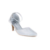 Silver Color Winter Court Shoes WN7116