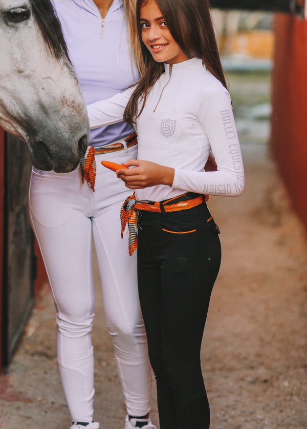 Young rider black breeches