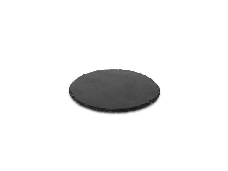 NATURAL SLATE Round 25 cm, Rustic Edged