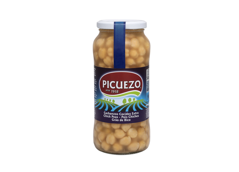 Picuezo Chick Peas Glass Jar