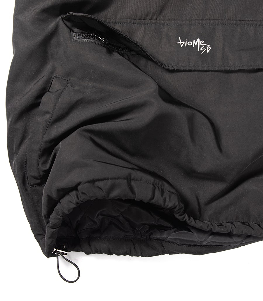 Puffy windbreaker - reflective