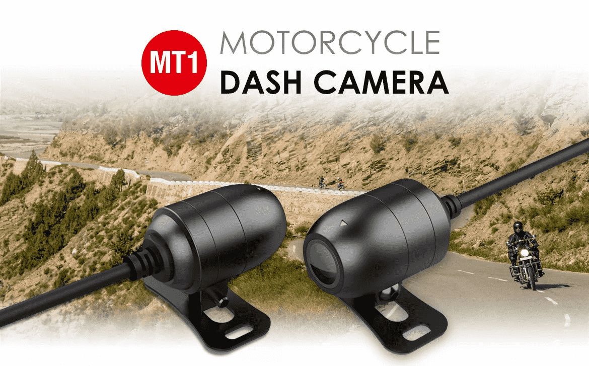 MT1 Motorcycle Dash Camera Introduction