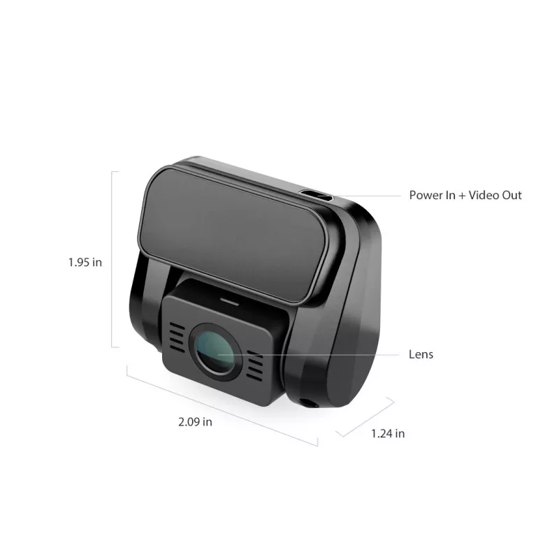 (16GB EMMC STORAGE) A129 PLUS DUO DUAL CHANNEL DASH CAM FRONT 2K 1440P + REAR 1080P WITH WI-FI GPS DASH CAMERA
