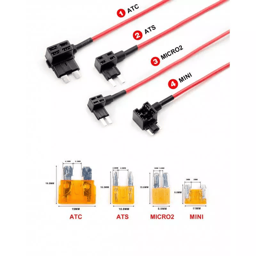 4pcs Circuit Fuse Tap ATC - Viofo UK