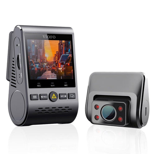 A129 IR Dual Dash Cam - Front & Internal